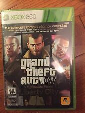 Grand Theft Auto IV -- Complete Edition (Microsoft Xbox 360) - Brand New Gta 4