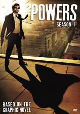 Powers: Season 1 (DVD, 2015, 3-Disc Set)