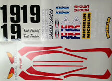 HONDA VF750 VF750F WORKS AMA SUPERBIKE FREDDIE SPENCER REPLICA DECAL SET