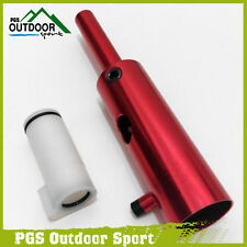 Paintball Tippmann Custom 98 Red Aluminum  Power Tube+ Derlin Bolt