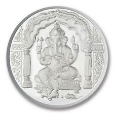 RSBL Shree Ganesh Silver Coin of 10 Grams in 999 Purity- Ganesha 10 Gms/ 10 gm