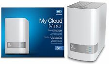6TB Western Digital WD My Cloud MIRROR 6 TB External Hard Drive WDBZVM0060J