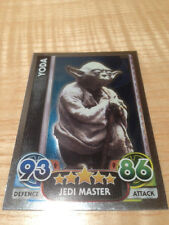 STAR WARS Force Awakens - Force Attax Trading Card #166 Yoda