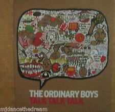 """ORDINARY BOYS - Talk Talk Talk - 7"""" Single PS"""