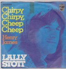 "7"" Lally Stott Chirpy Chirpy, Cheep Cheep / Henry James 70`s (Coverversion)"