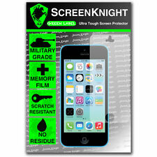 ScreenKnight  Apple iPhone 5C FRONT SCREEN PROTECTOR invisible MILITARY shield