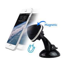 Rotazione a 360 gradi magnetici Car Dash mount holder per cellulare