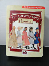 THE AMERICAN GIRL PREMIERE COLLECTION TIN HANDBOOK USERS GUIDE HAT AG NEWS