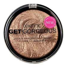 Brand New -Technic Get Gorgeous Bronze Highlighter Compact Powder 12g