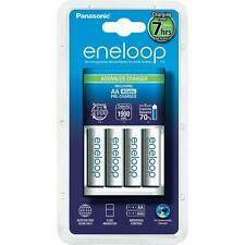 Panasonic Eneloop Charger SEC-MQN064N 4-Pack AA Ni-Mh 2000mAh Batteries