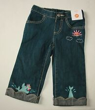 New Gymboree Swimming Seal Scalloped Blue Jean Size 5T NWT Rainbow Cabana