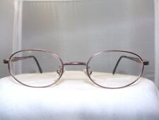 FENDISSIME BROWN OVAL EYEGLASS FRAME