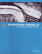 HARLEY-DAVIDSON Reparaturanleitung 2014 Sportster XL Modelle DEUTSCH 99484-14DE