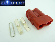 ANDERSON PLUG 50 AMP - BATTERY CONNECTOR - JUMP START - SLAVE ASSIST - X1 RED