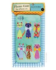 iPhone 4/4S Hard Case -Cats With Bow ties Santoro Eclectic new mobile phone case
