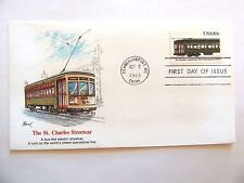 """October 8th, 1983 Honoring """"The St. Charles Street Car"""" First Day Issue"""