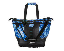DORSAL Leakproof Soft Cooler w replacable liner-LARGE BLUE CAMO FISHING - MARLIN