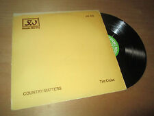 TIM CROSS country matters LIBRARY ELECTRONIC FOLK & COUNTRY - THEME MUSIC Lp 81