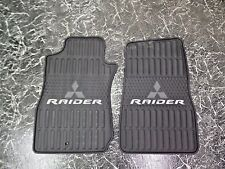 NICE OEM ALL WEATHER MITSUBISHI RAIDER FLOOR MATS 07 08 09 FRONTS