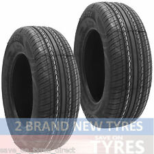 2 1456515 Budget 145 65 15 145/65 New Car Tyres x2 TR High Performance Two