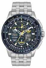 Citizen Men's Eco-Drive Blue Angels SKYHAWK A-T Stainless Steel Watch JY8058-50L