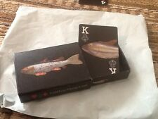 New Shrink Wrapped Antique Fish Decoy Playing Cards in BOX