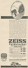 Y5023 ZEISS Feldstecher - Pubblicità d'epoca - 1927 Old advertising