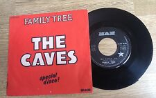 "French 7"" Family Tree (Johnnie Spence)  The Caves disco 1977 VG+"