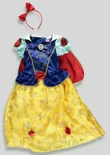 Bnwt BIANCANEVE DISNEY PRINCESS DELUXE FANCY DRESS UP Costume 8-9 anni CAPE Inc..