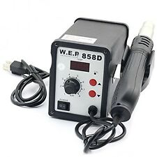 WEP 858D (110V) Hot Air Rework Soldering Station Suitable For SMD SOIC CHIP Q...