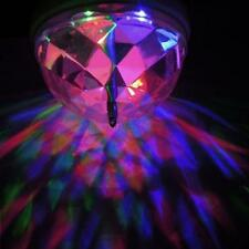 Rotate RGB LED Light Bulb Stage Party Dance Disco DJ Lamp Lights Home Decor A40