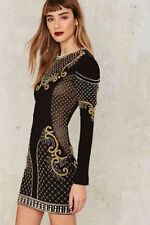 Nasty Gal Collection Love Will Never Do Embellished dress small new with tags
