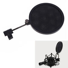Mic Microphone Wind Screen Mask Gooseneck Shied Pop Filter for Shock Mount Mike