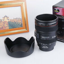 Creative Camera Lens Tea Water Mug Travel Office Thermal Coffee Cup Hot