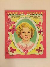 VINTAGE Paper Doll - Shirley Temple 18.5 Inch Tall - Saalfield