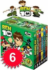 Ben 10 Pocket Library Collection 6 Books Set Gift Pack Early Reading & Learning