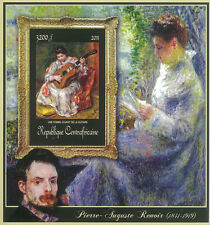 CAR 2011 Stamp, CA11420G Special Block of Paintings of Pierre-Auguste Renoir,