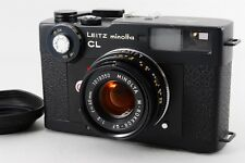 [Exce+++++] Leitz Minolta CL w/ M Rokkor 40mm F/2 Leica M Mount from Japan #209
