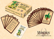 Munchkin Loot Letter Boxed Edition Card Game From AEG & Steve Jackson Games Love