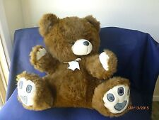 "Giant Jumbo Large 23"" Brown Plush Teddy Bear Stuffed Animal Toy Soft Cuddly"