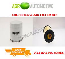 PETROL SERVICE KIT OIL AIR FILTER FOR FORD FOCUS 1.8 125 BHP 2006-12