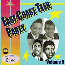 EAST COAST TEEN PARTY Volume 9 CD NEW 1950s rock 'n' roll rhythm & blues