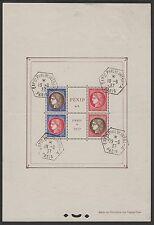 """FRANCE BLOC FEUILLET 3 """" PEXIP 1937 """" OBLITERE CACHET EXPOSITION TB A VOIR  P004"""