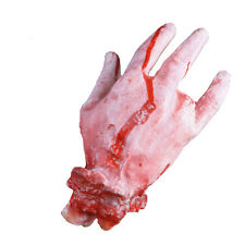 Happy Halloween Horror Props Bloody Hand Haunted House Party Decoration