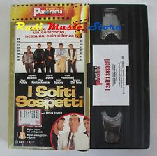 film VHS I SOLITI SOSPETTI Kevin Spacey CARTONATA PANORAMA 1995 (FP2** ) no dvd