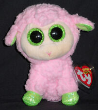 "TY BEANIE BOOS BOO'S - BABS the 6"" LAMB - MINT with MINT TAG"
