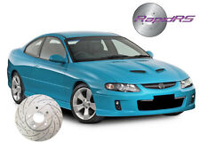 HSV VT VU VX VY VZ CLUBSPORT R8 MALOO SENATOR GTO SLOTTED DISC BRAKE ROTORS