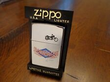 BORN TO RIDE MOTORCYCLE SERIES ZIPPO LIGHTER MINT IN BOX 1996