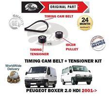 FOR PEUGEOT BOXER 2.0 HDi 8V 84BHP 2001-2006 NEW TIMING CAM BELT TENSIONER KIT