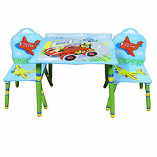 NEW CHILDRENS TABLE AND CHAIRS, BOYS TABLE, KIDS TABLE SET, CARS TABLE